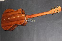 Wholesale new single cut guitar Koa Electric Acoustic guitar K24 solid KOA Guitar B band eq