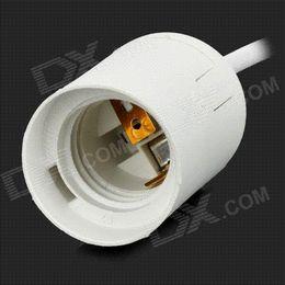 E27 LED Dimmer 220V, regulador regulador de intensidad de luz con la extensión de cable controlado Acess control de la aeronave desde extensión del controlador proveedores