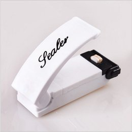 Wholesale Mini Portable heat sealing machine food vacuum sealer machine hand Tubing Plastic Bag Kit Tool