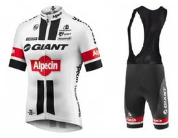 TOUR DE FRANCE 2016 GIANT ALPECIN TEAM SHORT SLEEVE CYCLING JERSEY SUMMER CYCLING WEAR ROPA CICLISMO+ BIB SHORTS 3D GEL PAD SET SIZE:XS-4XL