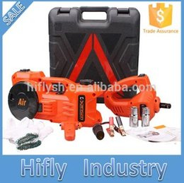 Wholesale HF Lifting cm to cm Car Electric jack car air pump car electric wrench in Auto multi function maintenance tools