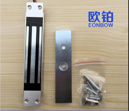Wholesale kg lbs Door Shear Locks Concealed Shear Magnetic Lock for door access control system Floor Mount Electrical Magnetic Lock