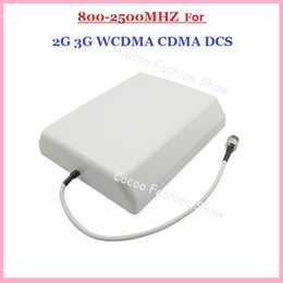 Wholesale G G CDMA GSM DCS AWS WCDMA dBi cellphone mobile phone signal indoor wall panel antenna