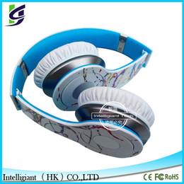 Wholesale Artist Series Futura HD Headphones Noise Canceling Headset Graffiti HD Wired headphones Over Ear Headphones Headset with Mic Retail Package
