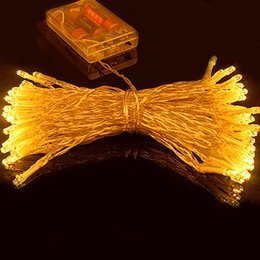 Best LED String Light 5M 50 LEDs Battery Operated Holiday Lighting Fairy Party Wedding Christmas Flashing LED Rope Lights