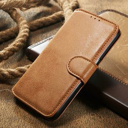 For Iphone 6 6s Plus Matte Vintage retro Leather CaseFlip Stand Wallet Phone 4.7 5.5 Leather Case