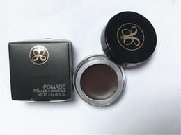 Wholesale Best quality Ana stasia Eyebrow Ehancers Beverly Hills DIP BROW Pomade Medium Brown Waterproof Eyebrow g high quality