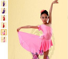 2018 Latin Ballroom Dancing Dresses Purple Red Pink Dress To Dance For Girls XS-XXXS Dance Dress Tango Vestido De Franja Dancewear Dress