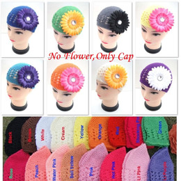 Wholesale Handmade Baby Ear Caps Wool Hot Newborn Bernat Hot Sale Bebe Hat Crochet Baby Boys Cap Solid Colorful