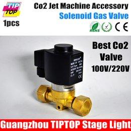 Wholesale TIPTOP Co2 Jet Machine Best Quality Solenoid Valve Professional Stage Lighting Manufacturer Cryo Co2 FX Jets Brass Valve Body