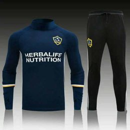 Wholesale LA GALAXY soccer jerseys football shirts home away top de foot maillot best quality training suit adult sets