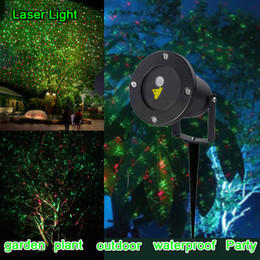 New generation of Christmas LED outdoor holiday waterproof projection display landscape Square Garden Tree laser lighting