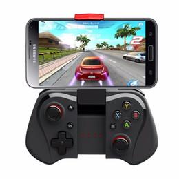 """Compra Online Pc joystick-El más nuevo iPega 9033 PG-9033 sin hilos del juego del juego de Nintendo Joystick Gamepad para iOS Android 6 """"Smartphone PC TV"""