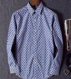 Wholesale The new men shirt leisure pure color long sleeve men cotton shirts age season business men jacket size M XXXL size