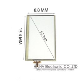 Original Fujitsu 6.5 Inch High Resolution and Transparency USB Touch Screen Panel Kit for GRS Monitor or Tablet