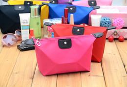 Monederos de las señoras regalos en venta-Bolso cosmético del embrague de la bolsa del bolso de los bolsos del maquillaje de la señora Travel Maquillaje de las mujeres lindas del caramelo Bolso ocasional del bolso del embrague de la bolsa del bolso de DHL