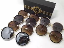 2017 gafas de diseño fresco Gafas de sol de lujo Dita Sunglass de la vendimia AAA de gran tamaño Gafas de sol de la gafa de sol del diseñador fresco de Vogue Gafas de sol del deporte de PREEBIRD para el hombre con las cajas barato gafas de diseño fresco