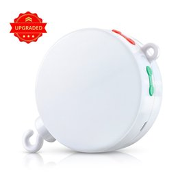Wholesale New Electric Autorotation Bed Bell Crib Mobile with M TF Card USD Cable Could Download the Songs You Like