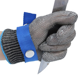 1 PC Stainless Steel Wire Cut Proof Gloves Anti Cutting Protective Gloves Stainless Steel Glove Anti-cut Glove