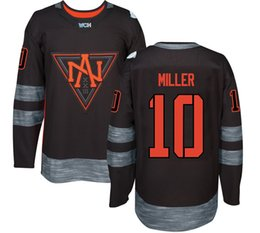 Wholesale Youth Hockey Jersey World Cup North American Team Gaudreau Miller Trouba Ekblad Parayko Jones Mcdavid Drouin Jersey Any Name and Number