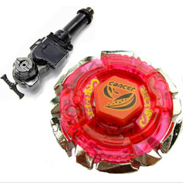 1Pcs 4D Beyblade Metal Fight BB55 Booster Dark Cancer CH120SF Christmas Gifts Toys Beyblade +L-R Starter Launcher + Hand Grip