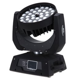 36x10W RGBW 4in1 LED WASH ZOOM moving head light wash beam stage lighting ZOOM Party wedding party effect LIGHT
