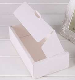 Latas de papel en venta-logo Venta directa de fábrica se pueden imprimir Kraft cajas de papel de embalaje de papel Clamshell cuadro shipping21.5 libre * 15.5 * 3cm
