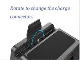 2017 boîte de haut-parleur de radio 2015 Nouvel affichage LCD alarme Radio FM Horloge numérique Rotation station de chargeur de dock CSR Bluetooth Aux in TF Lecture Stereo Speaker w / Box boîte de haut-parleur de radio sortie
