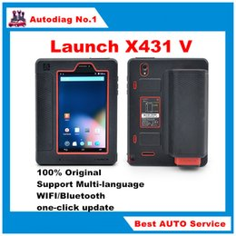 Wholesale Launch X431 V Wifi Bluetooth Full System Diagnostic Tool Same Function as X Pro X V Better than diagun Free Online Update