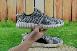 Wholesale Discount Best Kanye west Boost Men Women Pirate Black Shoes Brand Sneakers Athletic Shoes Perfect Sports Shoes