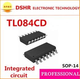 Wholesale SMD TL084CD TL084CDR TL084C TL084 SOP Integrated circuit pdf data inside QUAD OPERATIONAL AMPLIFIERS original