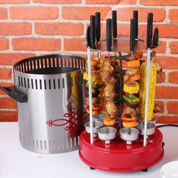 Wholesale Freeshipping electric Home Rotate party family Barbecue BBQ Grill