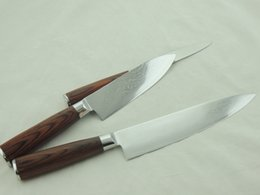 Delicate Kitchen Gift for Household Factory Price Damascus Knives 3 Pieces Set Kitchen Knives 5 6 8 inch