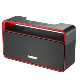 Wholesale MUSKY DY Portable Wireless Stereo Bluetooth Speaker Subwoofer U Disk TF Card mm Wired Speaker FM Radio Hands free Mic V2071