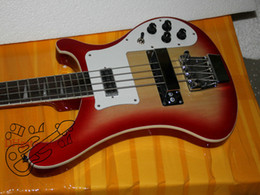 Bass Guitar New Arrival Cherry Burst 4 Strings 4003 Electric Bass High Quality Free Shipping