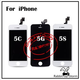 Wholesale Black White For iPhone S C G LCD Display Touch Screen Digitizer Full Assembly Replacement Repair Parts Factory Price