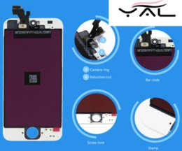 Wholesale best AAA TIANMA from China factory cheapest for iphone lcd digitizer assembly touch screen for iphone lcds free DHL shipping
