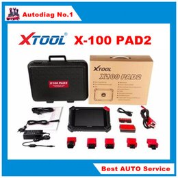 Wholesale 100 Original XTOOL X100 PAD2 x100 pad Better than X300 Pro3 Auto Key Programmer with Free Update Online