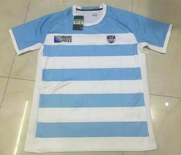 Wholesale Rugby Union Rugby World Cup Argentina Country new jersey High temperature heat transfer printing jersey Rugby Shirts