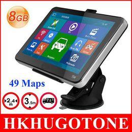 Wholesale 7 inch Car GPS Navigation GB Truck Sat Nav GPS Navigator Europe Navigation Lifetime Free Map Update