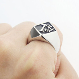 Wholesale 1 er One Percent Outlaw Biker Motorcycle Club Men s Stainless Steel Ring