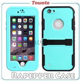 Wholesale 100 Original Colorful Redpepper Phone case Life waterproof proof cover for iPhone s quot Hard PC bags retail box vs SGP Hybrid cases