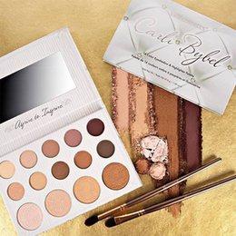 Wholesale BH cosmetics eyeshadow eye shadow makeup palette Kyshadow matte pressed powder Carli Bybel Highlighter Palette Sealed colors