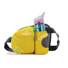 2015 Vente chaude! Plus Choix de couleurs Unisexe imperméable bouteille de sports de plein air bouteille d'eau Nylon Shoulder Waist Bag à partir de choix de sports fabricateur