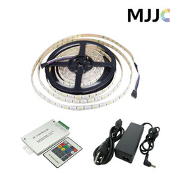 5M 300 SMD 5050 Waterproof RGBW LED Flexible Strip Tape Light + 1pc RGBW 16A RF 20Keys RGBW LED Controller + 1pc 5A 60W LED Adapter