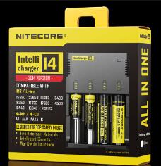 Wholesale Authentic Nitecore I4 Intellicharger Universal e cig Charger for AA AAA Battery Nitecore Battery Chargers