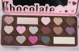 Wholesale New Arrivals makeup chocolate bonbons eye shadow color eyeshadow Palette Pieces