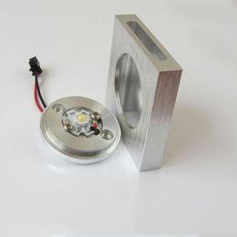 Al por mayor (WECUS) el envío libre, la lámpara LED de la escalera, footlights esquina LED, luz de fondo, 2 fuente de haz de luz, 85-265V 1W, XJ-BD-0014 cheap wecus light desde wecus light proveedores