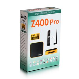 Wholesale 2016 Tiger Z400 pro Original Satellite Receiver Power VU Set Top Box with USB Wifi G Youtube Youporn CCCAMD