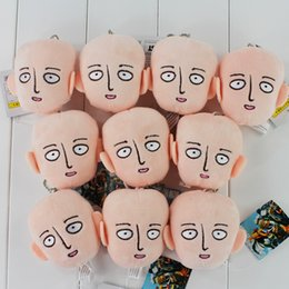 Anime ONE PUNCH-MAN Plush Toys Plush Pendant Toys Soft Stuffed Dolls 9cm High Quality Free Shipping 10pcs lot